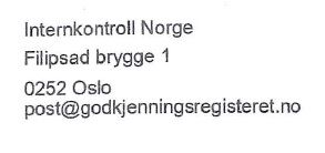 Internkontroll Norge AS